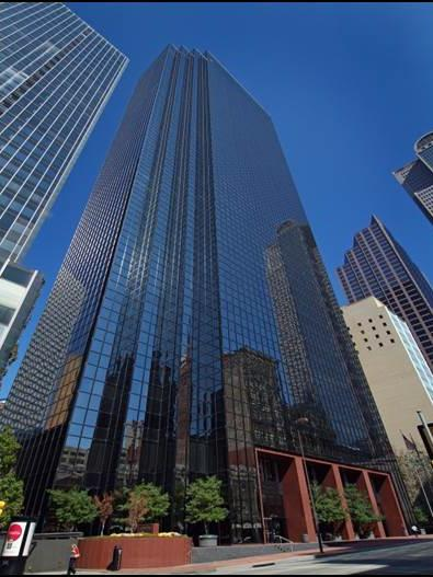 The financial services firm, which concentrates on auto financing (such as CarMax) and consumer lending, plans to set up its corporate offices within 15 floors, or about 371,000 square feet in Thanksgiving Tower.