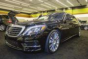 OK, it's not a hatchback, but the Mercedes-Benz s550 caught my eye. It's a big V8 sedan with a 7 speed automatic transmission.