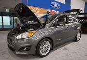 The Ford C-Max, an electric car that recently made headlines when the similar Ford C-Max Energi Concept debut at CES.