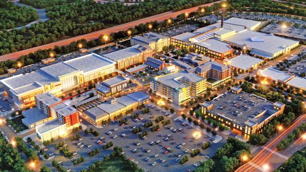"Dick's Sporting Goods will build an 80,000-square-foot ""flagship"" store at Liberty Center."