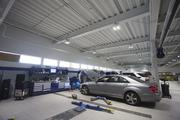 Upon final completion, Mercedes-Benz of Scottsdale will operate 34 service bays for repairs and maintenance.