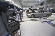 The service garage is climate-controlled which will make it easy on technicians during the hot Arizona summers.