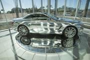 The chrome-wrapped Mercedes SL-550 has turned a lot of heads at Mercedes-Benz of Scottsdale.