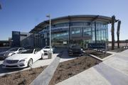Mercedes-Benz of Scottsdale was built out of a remodeled three-story office building in Scottsdale.