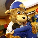 Chicago Cubs introduce Clark, a family-friendly mascot