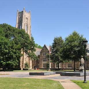The Rhodes College Tower is about to get a makeover as part of a larger project to update the campus' sciences facilities.