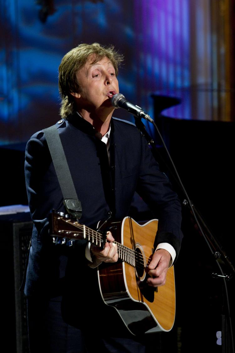"""Paul McCartney will perform at Nationals Park Friday, July 12, as part of his """"Out There"""" World Tour."""