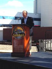 U.S. Sen. Bill Nelson said today was a day to celebrate the continuation of SunRail and even more rail projects to come to Central Florida in the years to come.
