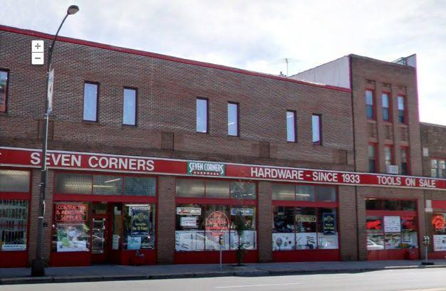 The Seven Corners Hardware store in St. Paul