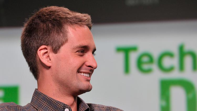 Evan Spiegel, co-founder and CEO of Snapchat, speaks at TechCrunch Disrupt SF 2013.