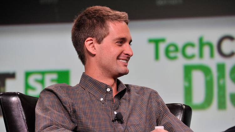 Evan Spiegel, co-founder and CEO of Snapchat, is looking at ways to make money from his ephemeral messaging service.