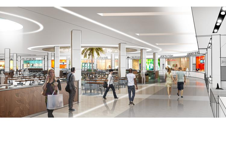 The Florida Mall plans to start work in the spring on a new, expanded pavilion with a food court, retail and a new mall entrance, to replace the Saks Fifth Avenue store.