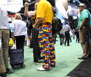 Golf professionals, new gear and interesting pants are the order of the day at the PGA show.