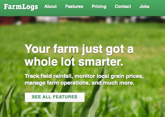 Drive Capital has led a $4 million round of funding for FarmLogs.