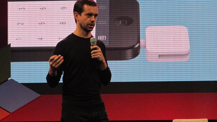 Jack Dorsey, co-founder of Twitter and Square, appeared at the National Retail Federation conference in New York to talk to retailers about the key opportunities that the latter can provide for them.