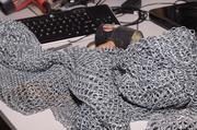 Chain mail. Because you never know when medieval war will break out.