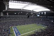 Overall view of Texas Stadium of the Dallas Cowboys during the Cowboys 39-31 loss to the  Detroit Lions at Texas Stadium in Irving in 2006.  Photo by James D. Smith.