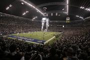 Overall view of Texas Stadium of the Dallas Cowboys during the Cowboys 42-17 loss to the New Orleans Saints in 2006 at Texas Stadium in Irving.  Photo by James D. Smith.