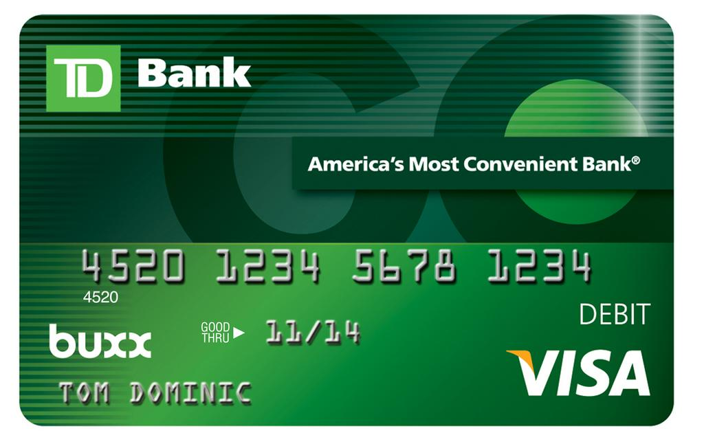 TD Bank launches debit card for teens - Philadelphia