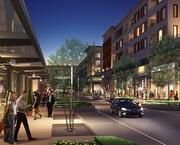 One of Oliver McMillan's mixed-use projects in Houston, which could help influence possible development at the site of the former Texas Stadium in Irving.