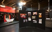 Faces of Sodo exhibit at Aston Manor in Seattle on Thursday.