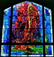 The Cathedral of the Sacred Heart in Winona features stained glass made by Winona-based Willet Hauser.