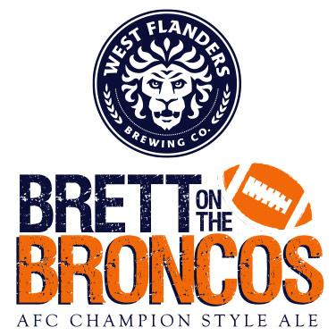 West Flanders Brewing of Boulder on Thursday will tap Brett on the Broncos, a one-time offering as the team prepares for the AFC Championship.
