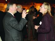 Rod Diaz of McKinley Carter and Suzanne Smarsh of Dollar Bank.
