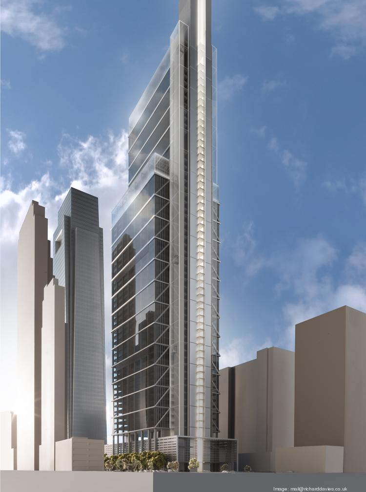 The newly proposed Comcast skyscraper