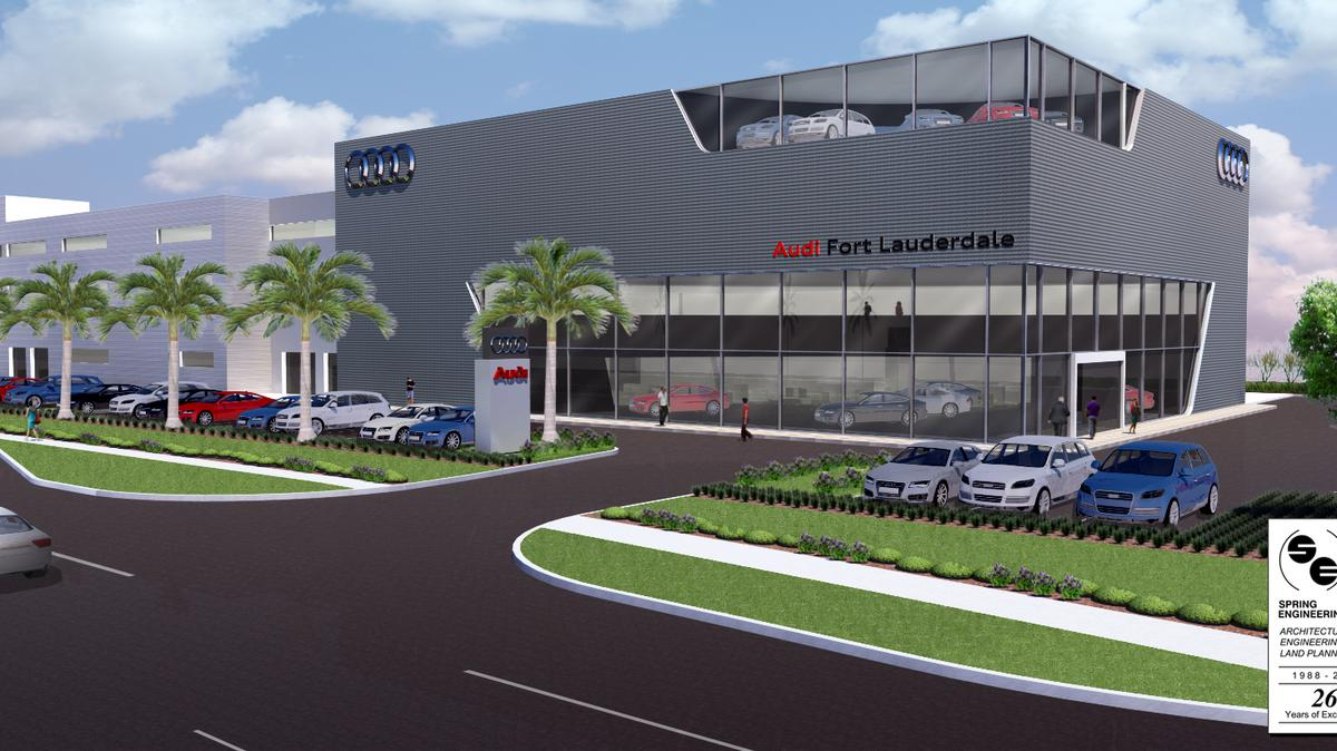 Bank Of America Lends 17m To Build Audi Dealership