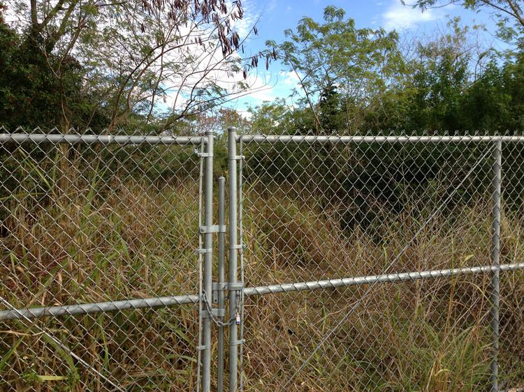 The property is two contiguous parcels west of 58th Street North at 126th Avenue.