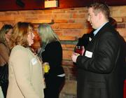Cindy Johnston of Sir Speedy Printing and Marketing and Neil Benzinger of Midnight Blue.