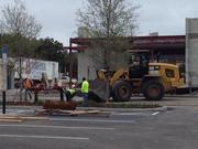 General contractor Scherer Construction LLC is hard at work on retail spaces at The Orlando Eye on International Drive.