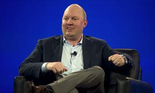 Marc Andreessen is fascinated by the possibilities of bitcoin.