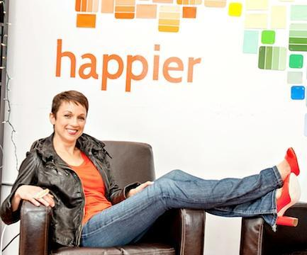 Nataly Kogan is founder and CEO of Happier, one of the social networks based in the Boston area.