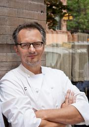 Bart Blatstein's plan for The Provence Resort & Casino in Philadelphia would include involvement from two celebrity chefs, Tom Colicchio and Andrew Carmellini (pictured). The Provence is one of five proposals vying for one casino license.