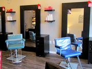 The salon offers dimensional hair coloring, trending haircuts, facial waxing, special occasion updos and makeup, hair relaxing and texture services.