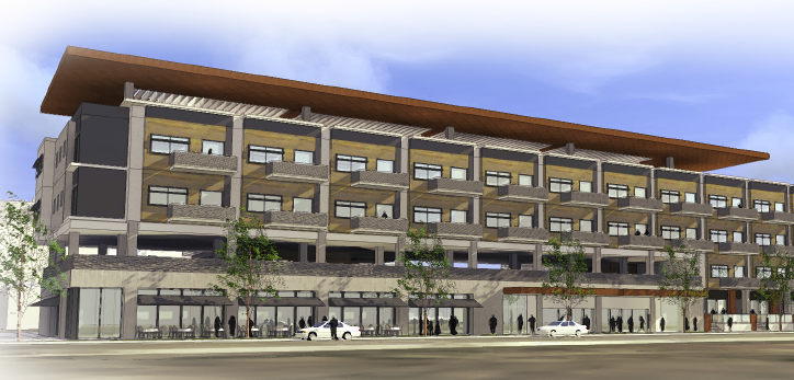 Integral Group LLC plans to build a four-story workforce housing development at 18th Street and Chestnut Place.
