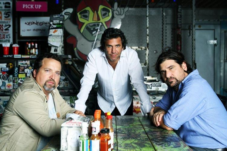 Gaston Legorburu, Worldwide Chief Creative Officer, SapientNitro,  pictured here with Jose and Joaquin Molla, La Comunidad (from left to right).