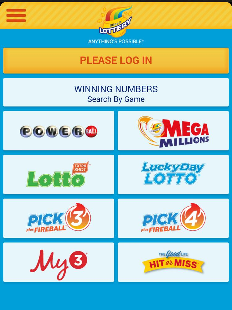 The Illinois Lottery has unveiled a new mobile app, the first state lottery to do so.