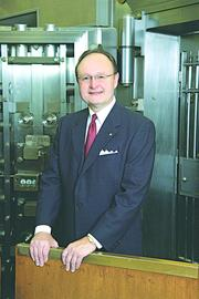 Rick Bagy, president of First National Bank of St. Louis, with $1.5 billion in assets