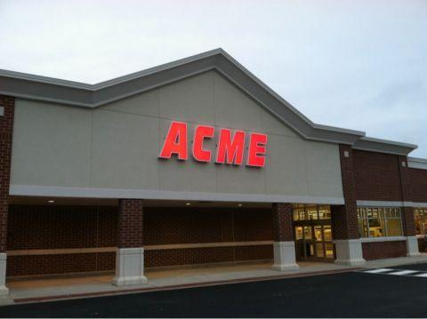 Acme Markets, which is based in Malvern, Pa., has 112 stores, including 64 in the Philadelphia marketplace.