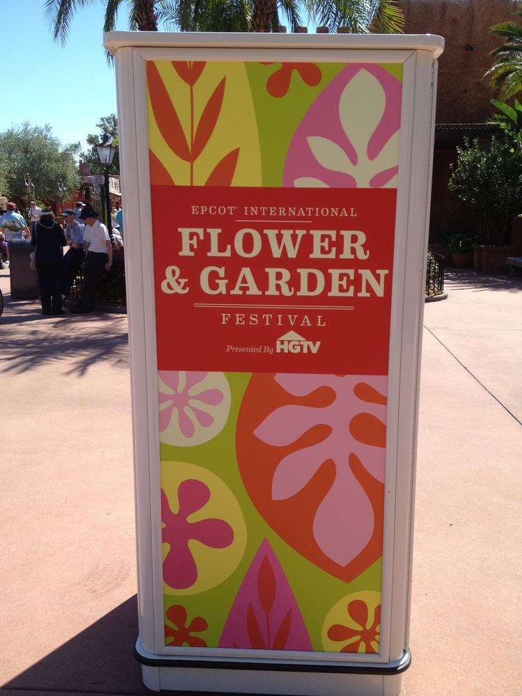 "This year is the 20th anniversary of the Epcot Flower & Garden Festival, and organizers decided this would be the right time to bring in a ""garden-to-table"" and ""garden-to-glass"" foodie element."