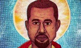 Yeezus, the central figure of Yeezianity.