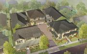 A drawing of one of the single-family-detached communities Lennar is building in South San Jose.