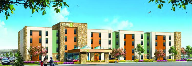Morrissey Hospitality Cos. Inc. has proposed building a 123-room hotel next to the outlet mall that's under construction in Eagan. The company has applied for the franchise rights for Hilton Hotels & Resorts' Home2 Suites extended-stay brand.