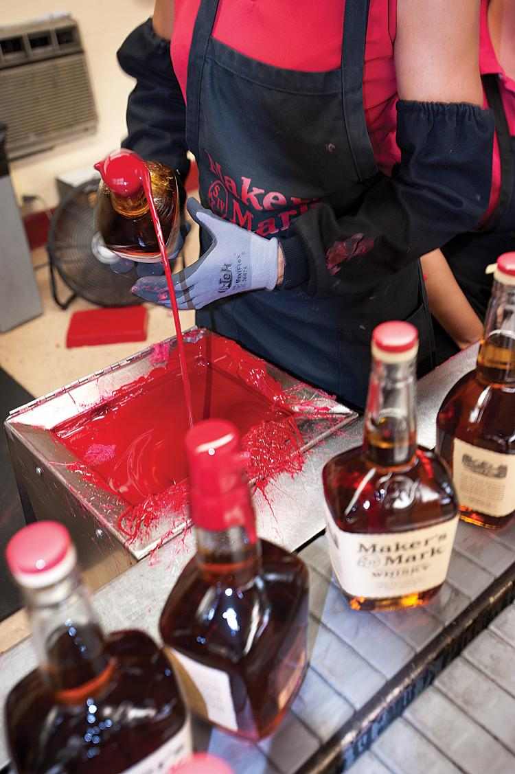 Maker's Mark COO Rob Samuels says the company is sticking to the original for now.