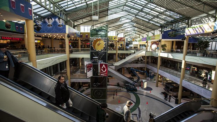 The Shops of Grand Avenue has leased space to local retailers in recent years to help fill the mall.