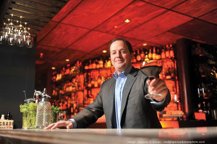 Setting them up: With six bars, a couple of liquor shops and growth plans, Future Bars' Brian Sheehy has a lot to toast.