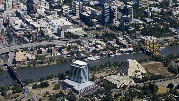 A riverfront entertainment district in West Sacramento stalled by the end of redevelopment looks as if it could be moving forward again, according to Mayor Christopher Cabaldon.